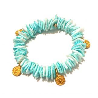 دستبند اقیانوسی سکه ای