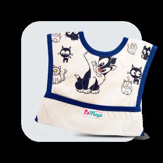 پیشبند کودک جیب دار سایز متوسط (M)